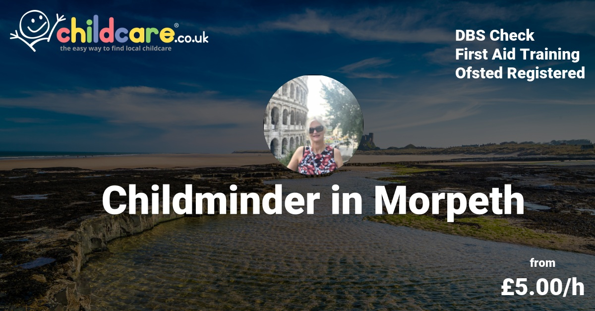 childminder in morpeth - clare thorpe