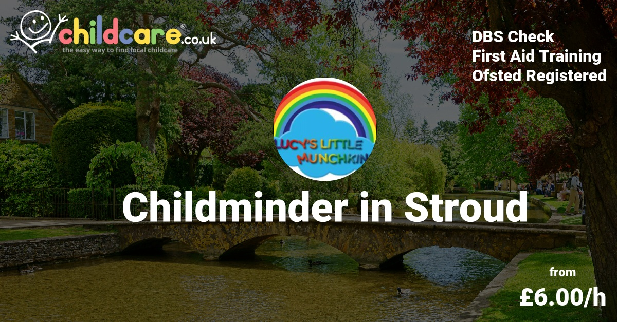childminder in stroud - lucy moray