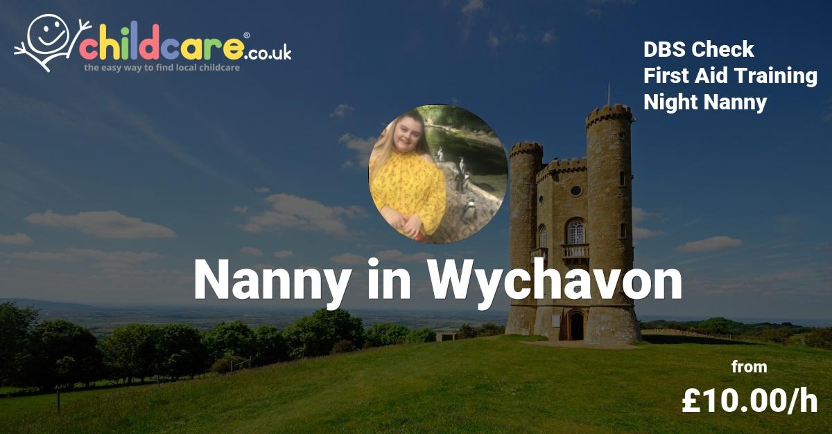 Babysitter in Evesham, Nanny in Evesham - Hannah