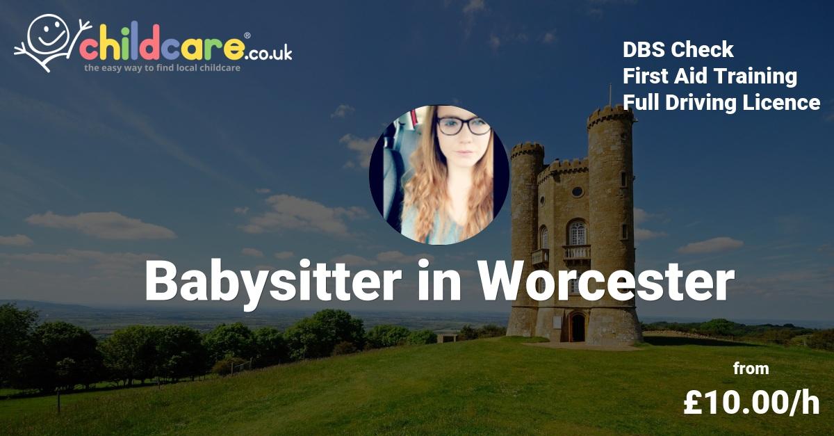 Babysitter in Malvern Hills - Claire - Childcare.co.uk