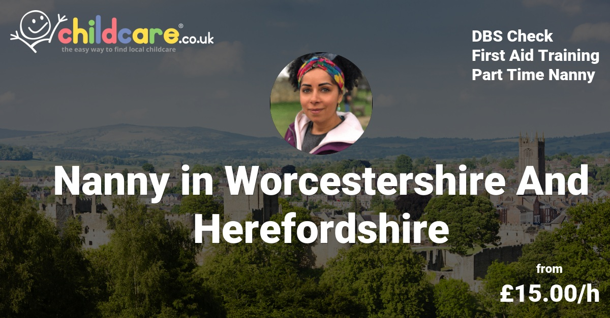 Babysitter in Worcestershire And Herefordshire, Nanny in