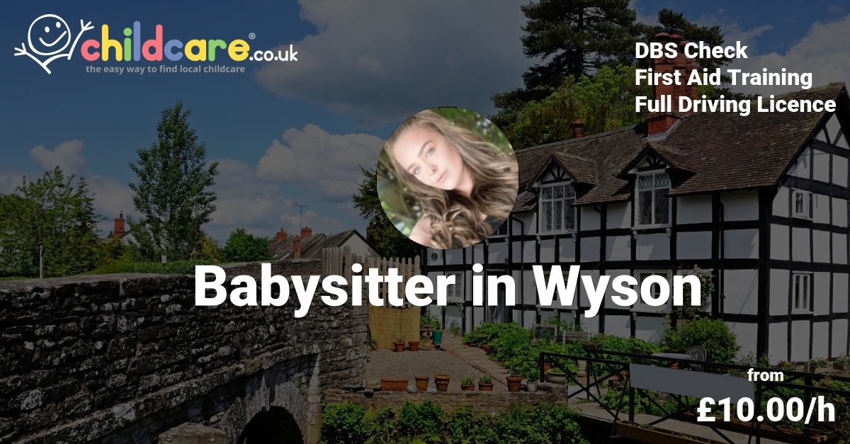 Babysitter in Worcestershire, Nanny in Worcestershire
