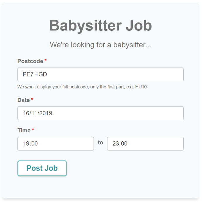 Babysitter Jobs A Quicker Easier And Free Way To Find A Babysitter Childcare Co Uk