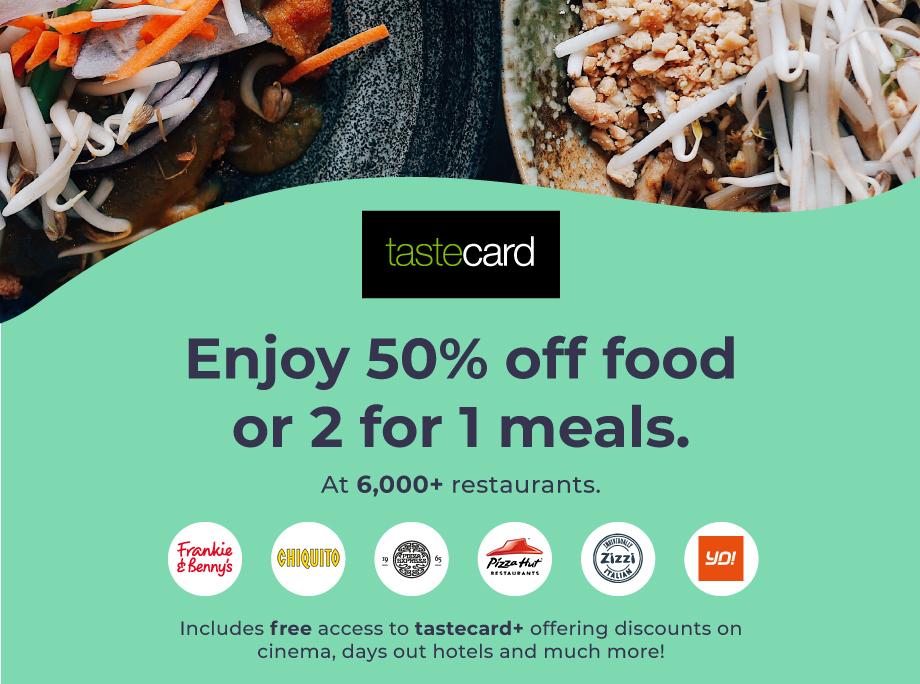 Free Tastecard Membership For Gold Members Childcarecouk