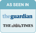 As seen in The Times and The Guardian