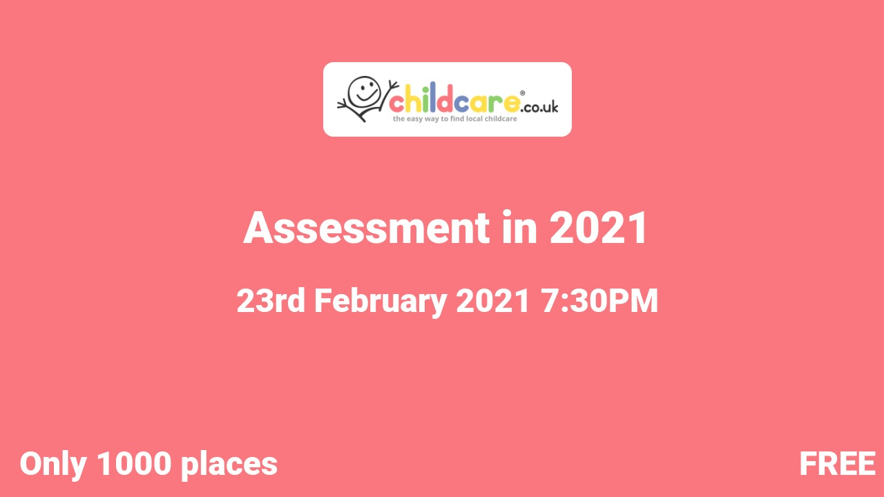 Assessment in 2021 poster