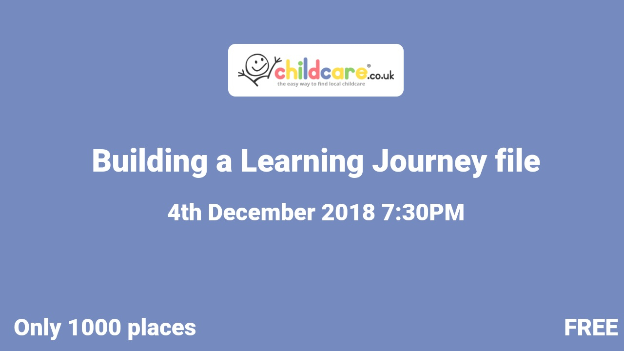 Building a Learning Journey file poster