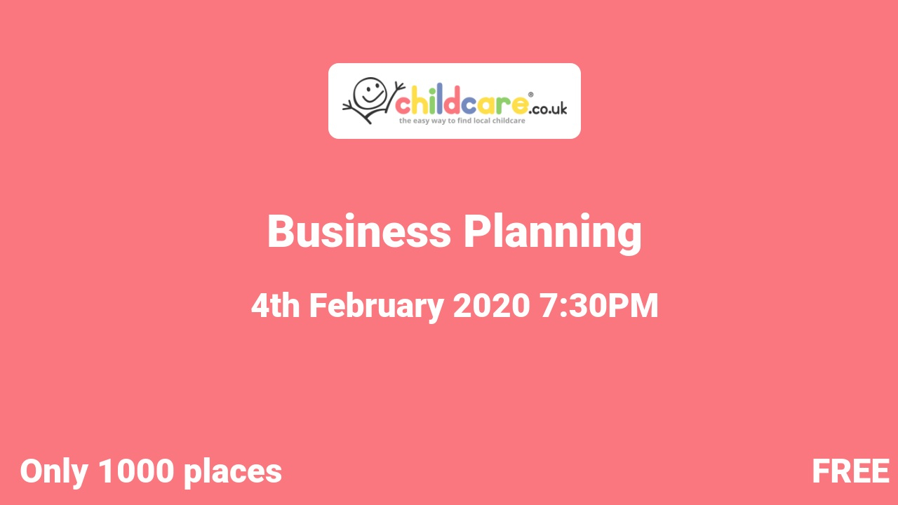 Business Planning poster