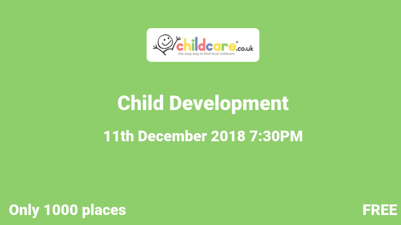 Child Development poster