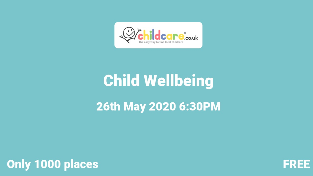 Child Wellbeing poster