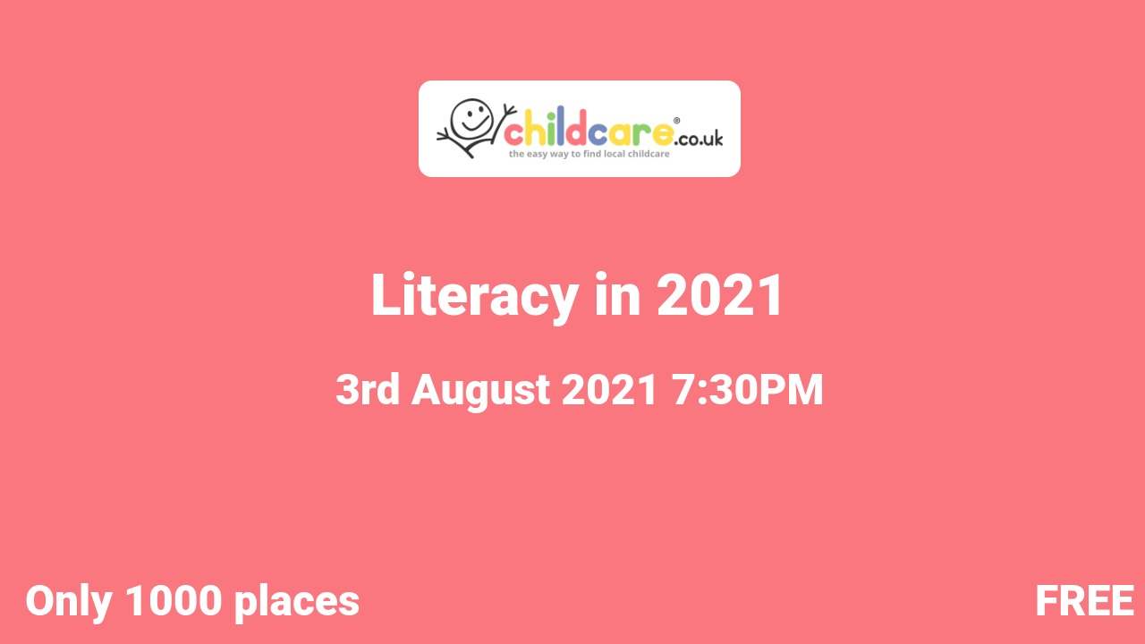 Literacy in 2021 poster