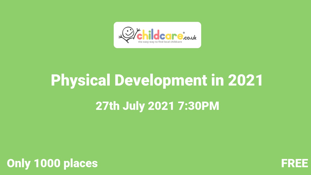 Physical Development in 2021 poster