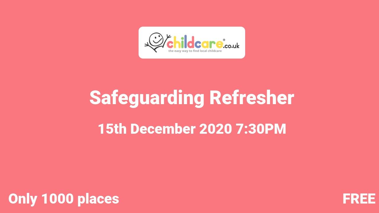Safeguarding Refresher poster