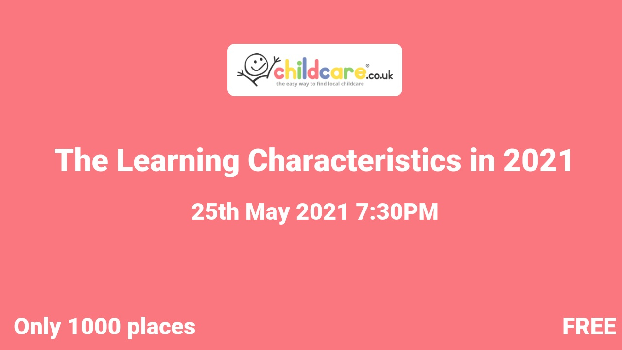 The Learning Characteristics in 2021 poster