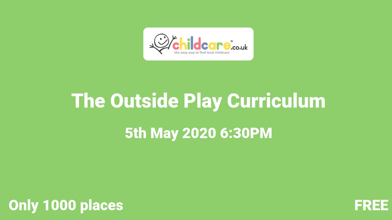 The Outside Play Curriculum  poster