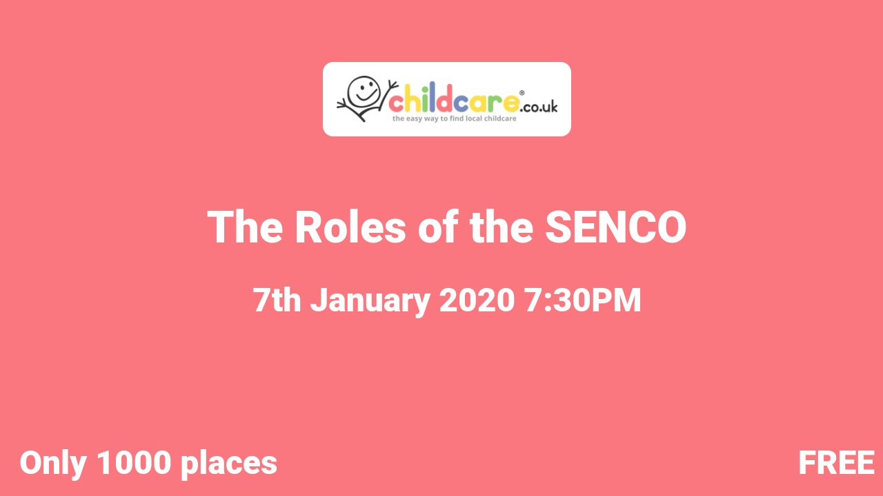 The Roles of the SENCO poster
